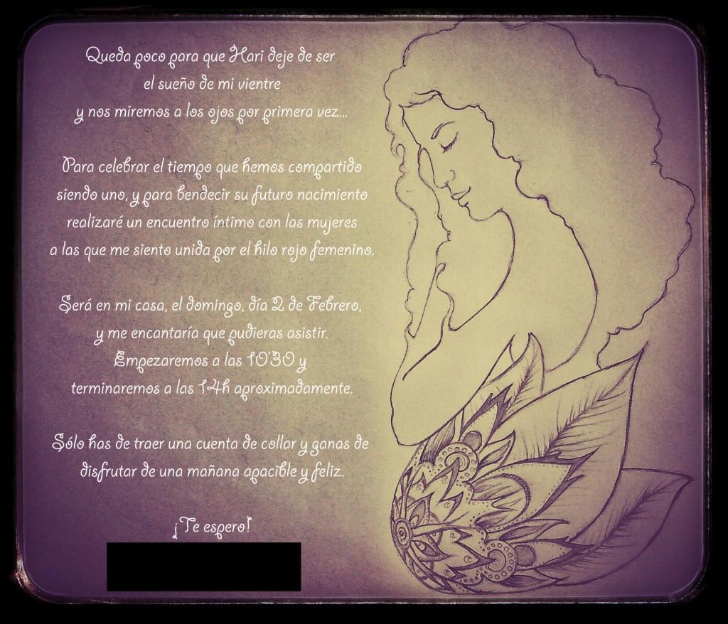 invitación blessingway