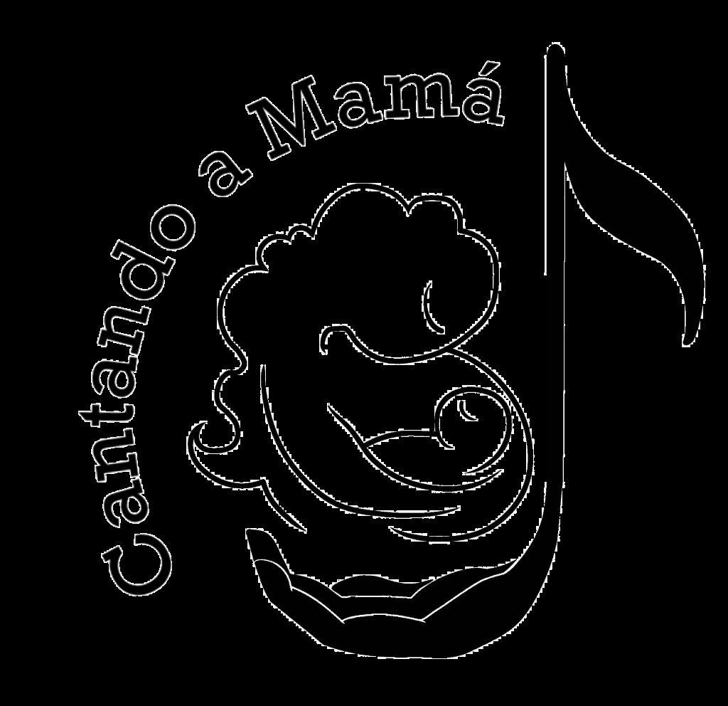 Logo Cantando A Mamá
