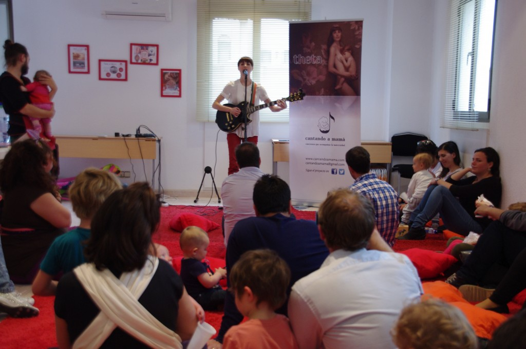 Concierto-presentación en Tierra Roja (24 de abril de 2015)