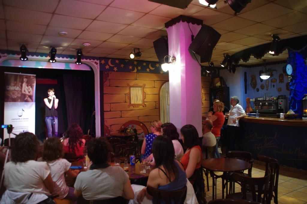 """Concierto en el café-teatro """"El Carro de Tespis"""" (Sax). Foto: Josema Díez-Pérez"""