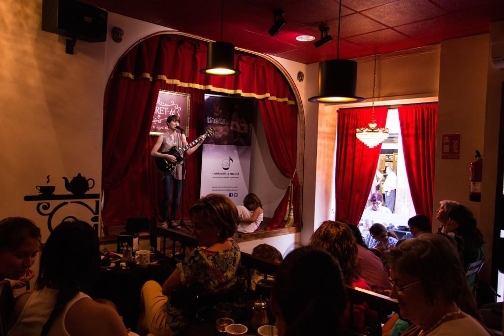 Concierto en CABARET-té (Villena). Foto: Pablo Arnáiz Montiel